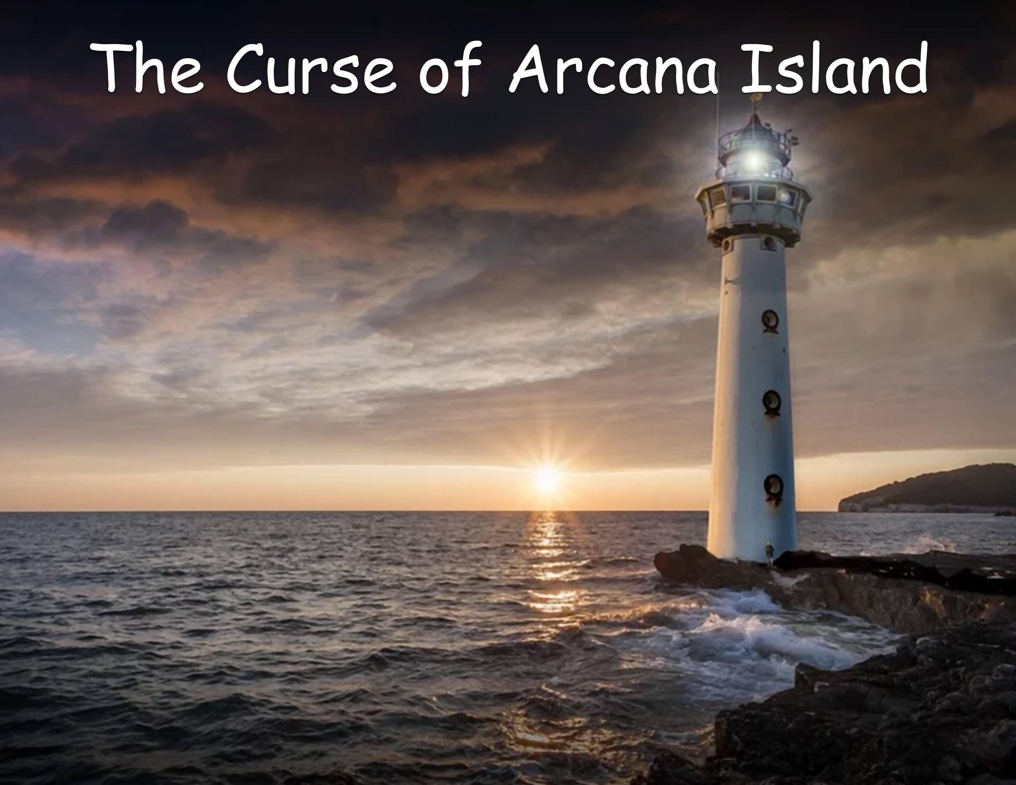 arcana island cover